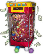 Party Cash Cube Budget Money Machine